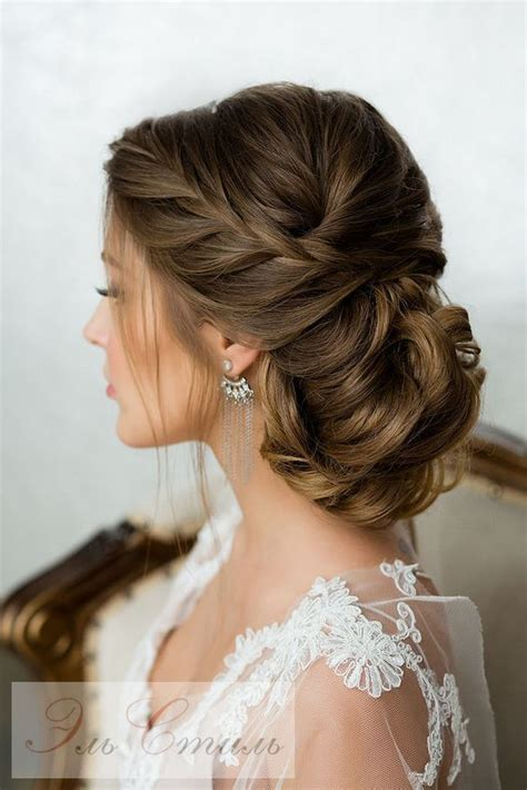 elegant wedding hairstyles ideas  pinterest