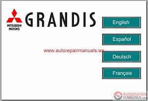 Mitsubishi Grandis 2008 Service Manual