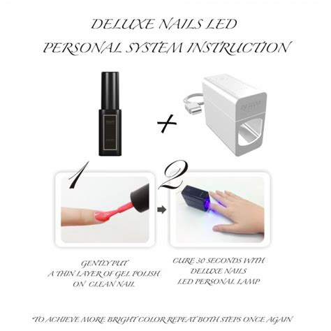 Lade A Led Per Unghie Prezzi by Deluxe Nails Lada Led