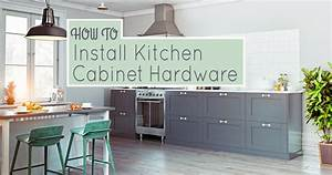 how to install kitchen cabinet hardware 1652