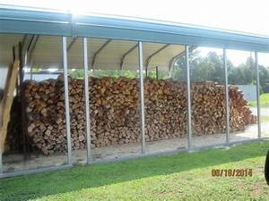 Large Wood Pile - Picture of Moore's Olde Tyme Barbeque ...