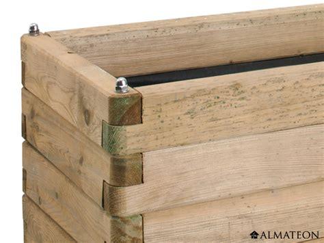 fabriquer bac a fleur en bois rectangulaire atlub