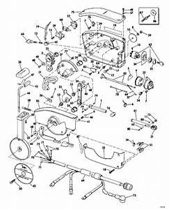 Johnson Remote Control Parts For 1977 70hp 70el77s Outboard Motor