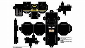 Papercraft Batman Papercraft THE LEGO BATMAN MOVIE