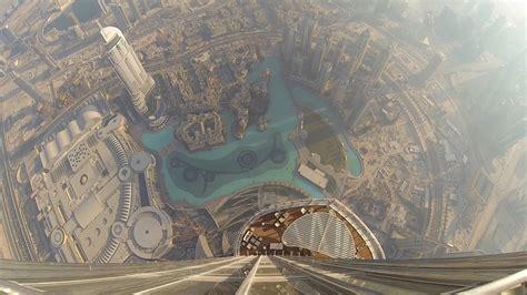 Amazing View From The Burj Khalifa