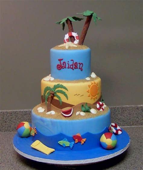 Beach Theme Cakecentralcom