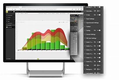 Chart Bi Power Visual Visuals Advanced Microsoft