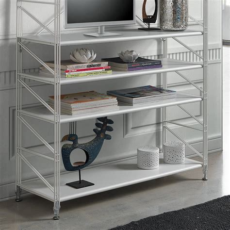 scaffali per libreria libreria scaffale per soggiorno in acciaio socrate 151
