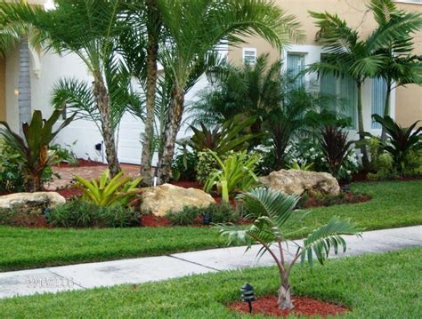 tropical landscapes front yard landscaping tropical ideas home decorating excellence