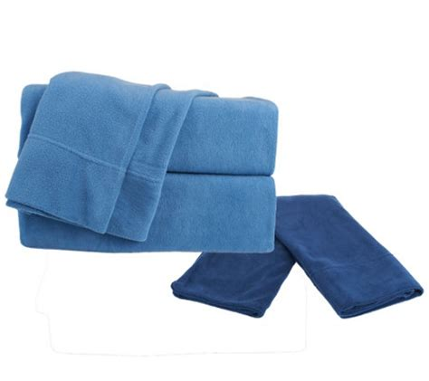 malden mills polar fleece fl sheet set w extra contrast