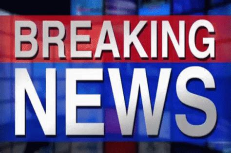 Breaking News GIF - BreakingNews News FlashReport ...