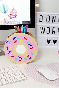 Coole Sachen Basteln : diy donut stiftehalter aus klopapierrrollen selber basteln in 2018 madmoisell diy projekte ~ Markanthonyermac.com Haus und Dekorationen