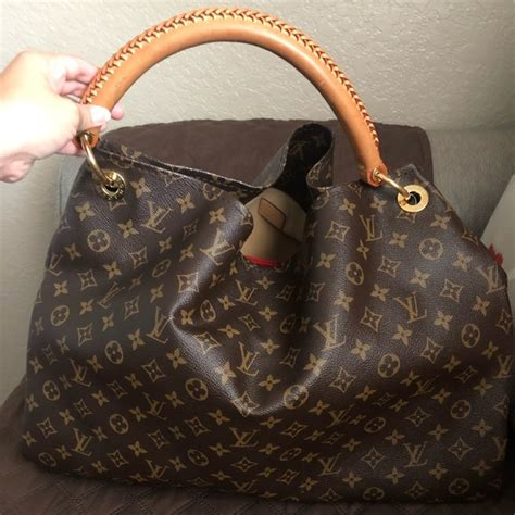 louis vuitton bags artsy gm monogram lv poshmark