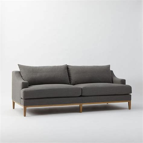 sofa gebraucht hannover 21227 montgomery filled sofa westelm possible living room or pb carlisle decor in 2019