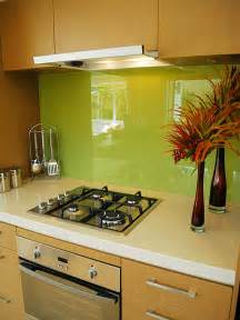 glass backsplash kitchen green glass kitchen backsplash decoist