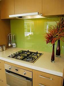 12 unique kitchen backsplash designs for Green kitchen backsplash ideas