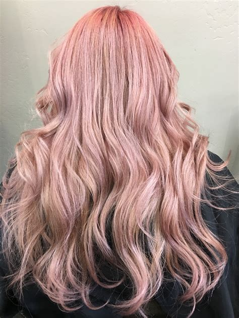 rose gold keracolor