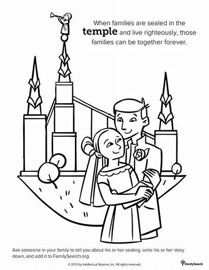 Lds Temple Coloring Pages Primary Salt Drawing
