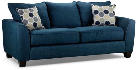 Navy Sofa by Heritage Sofa Navy S