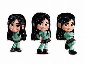 Vanellope Von Schweetz Hair Down Wallpaper by 9029561 on ...
