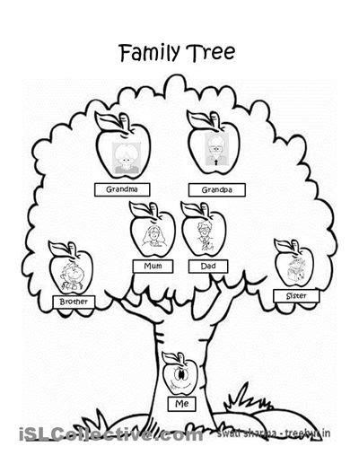 preschool    year coloring sheet basic family