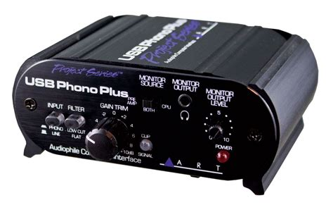 Test Art, Phono Plus Ps, Usbinterface Mit Phono