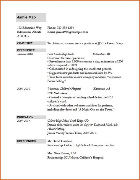 In the u.s., employers in certain industries may require a cv as part of your job application instead of a resume such as academia, education. job application resume template job application resume examples baskanidaico   Job resume ...