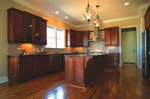 kitchen island cherry wood gorgeous kitchen island granite countertop overhang with cherry wood finish kitchen cabinets