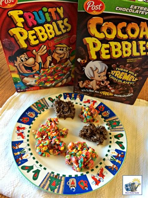 fruity cocoa pebbles cereal bars