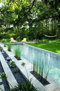 les 25 meilleures idees de la categorie piscines sur With photo amenagement paysager exterieur 6 realisations de piscines creusees en beton piscine