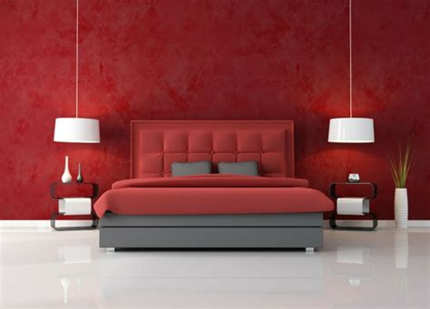 Rote Wand  50 Ideen Mit Wandfarbe Rot ! Archzinenet