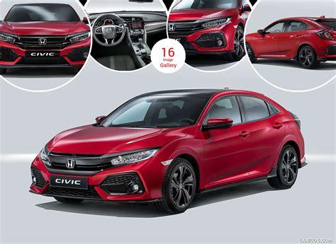 2017 Honda Civic Hatchback (euro-spec)