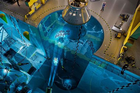 worlds deepest  largest indoor pool planned   uk