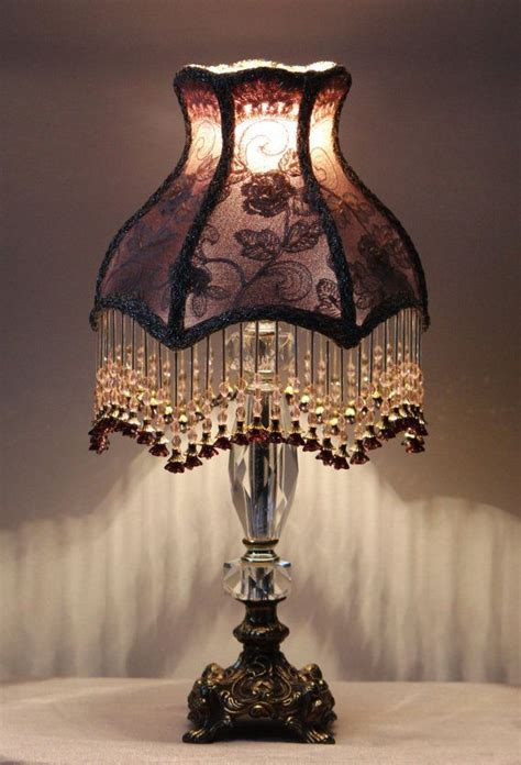 beaded lamp shade patterns victorian lampshades vintage