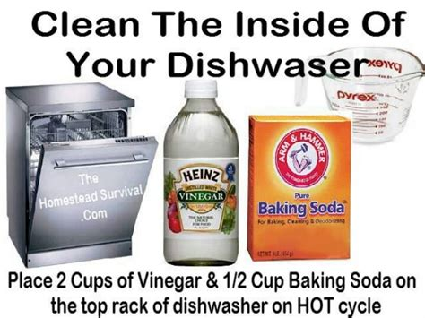 cleaning dishwasher dishwashers how to clean a dishwasher