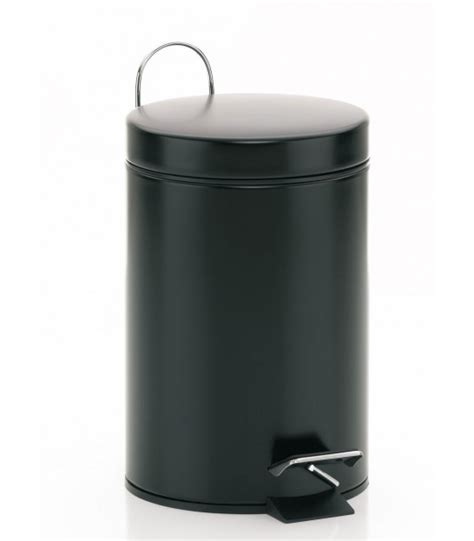 poubelles salle de bain poubelle de salle de bain en inox brillant carr 233 1 5l wadiga