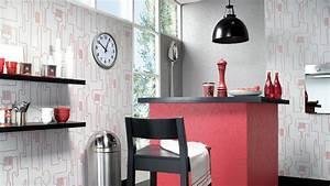 Papiers Peints Cuisine : faut il oser le papier peint dans la cuisine ~ Melissatoandfro.com Idées de Décoration