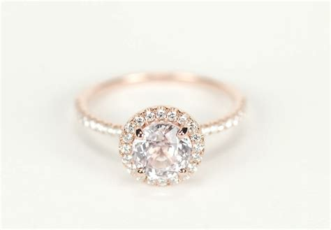 gorgeous and unique etsy engagement rings unique engagement rings halo setting handmade weddings on