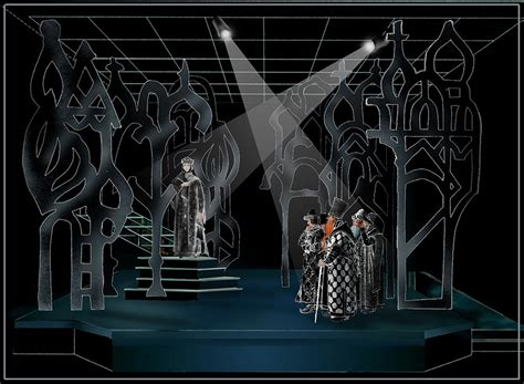 Church Stage Lighting by As You Like It By William Shakespeare Set Design By