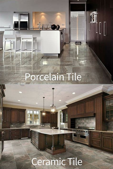 what is the difference between porcelain and ceramic tile