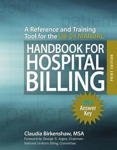 Download Handbook For Hospital Billing  With Answer Key