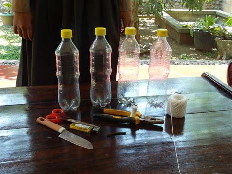 smpn patikraja membuat pot botol bekas