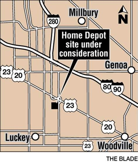 Home Depot Warehouse Distribution Center Ohio