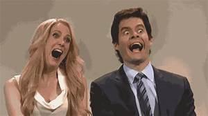 bill-hader-kristen-wiig-fake-laugh - Reaction GIFs