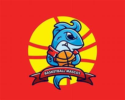 Mascot Basketball Vector Badger Honey Clipart Baseball
