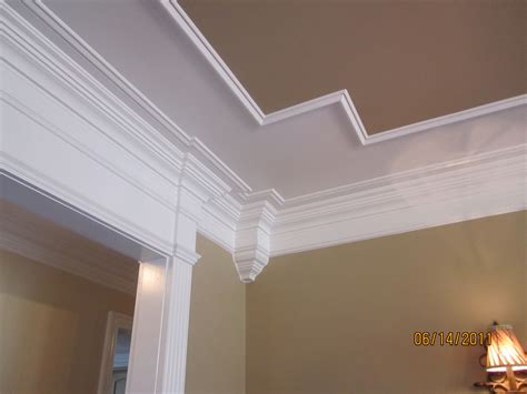Tray Ceiling Crown Molding by Awesome Crown Molding Ideas For 9 Foot Ceilings