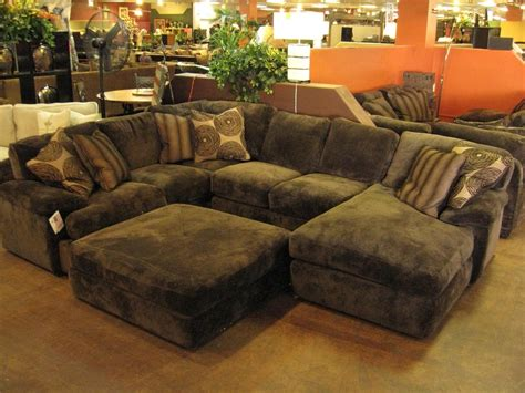 Oversized Sectionals by 10 Collection Of Sectionals With Oversized Ottoman Sofa