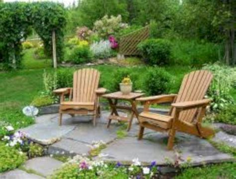 garden ideas seating area