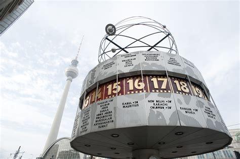 stock photo  weltzeituhr  worldtime clock