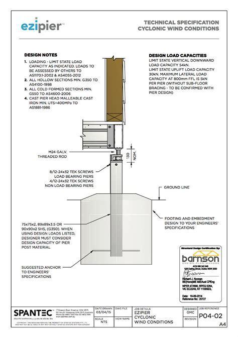 Ezipier Adjustable Steel Piers (Alternative To Timber